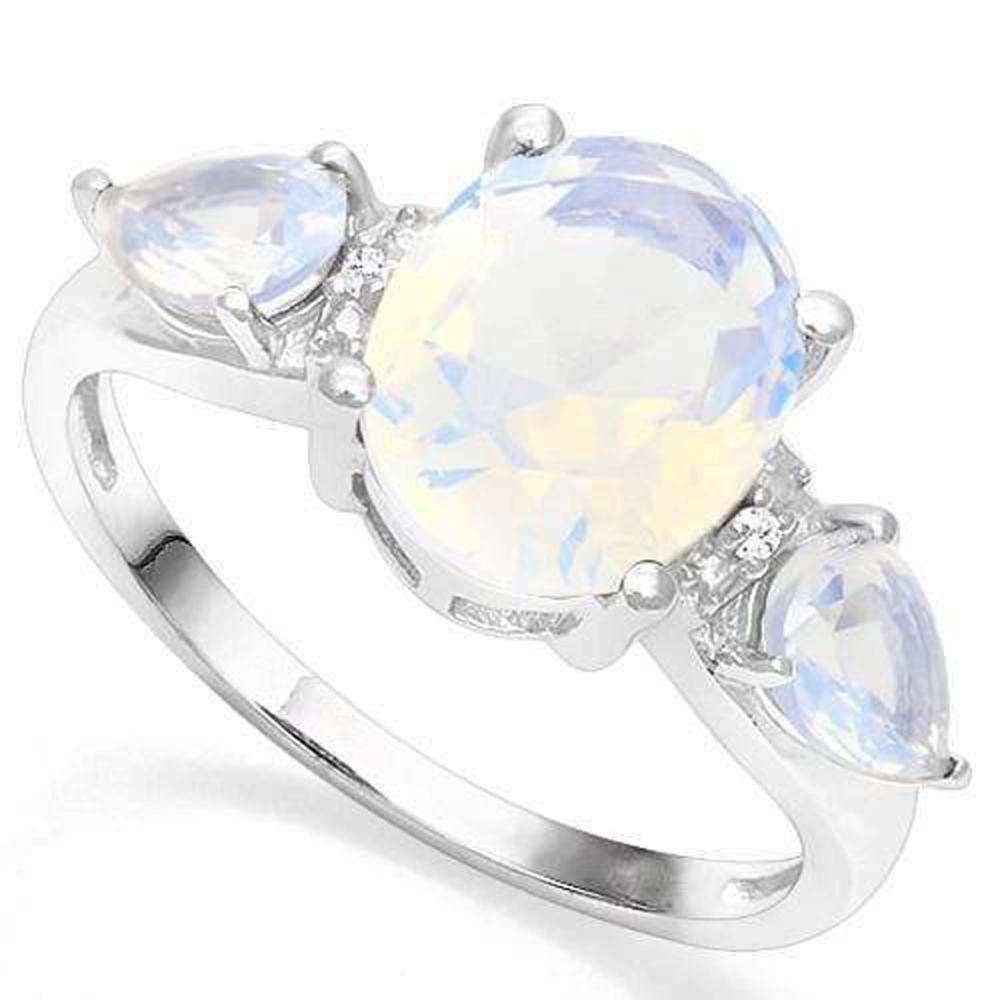 OUTSTANDING PAST,PRESENT,FUTURE FIRE OPAL RING