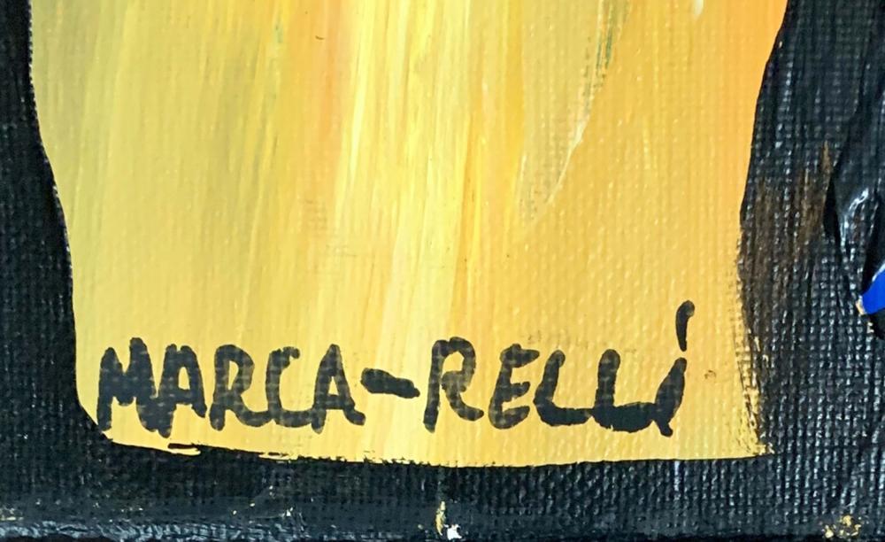 Lot 54: CONRAD MARCA-RELLI ACRYLIC ON CANVAS V$1,500