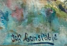 Lot 84: JOHN CONSTABLE OIL ON CANVAS LANDSCAPE V$1,500