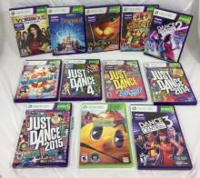 LOT OF 12 XBOX 360 GAMES