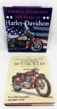 HARLEY DAVIDSON AND MOTORCYCLE ENCYCLOPEDIA BOOKS