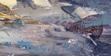Lot 47: THOMAS LORRAINE HUNT OIL ON CANVAS V$8,000