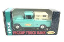 NEW ERTYL 1955 TRUE VALUE PICK UP TRUCK BANK