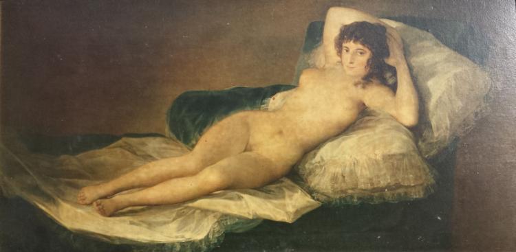 from Kolton the nude maja and the clothed maja