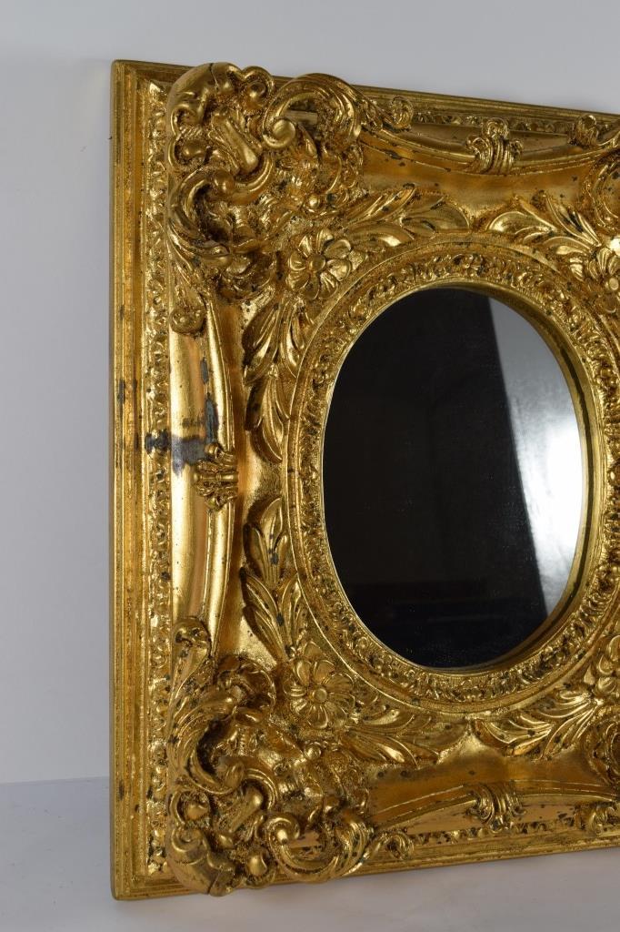 ornate gold gilt baroque style mirror framed On baroque style mirror gold