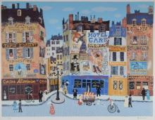 JOSEF FARHI PARIS ARTIST PROOF SERIGRAPH SIGNED