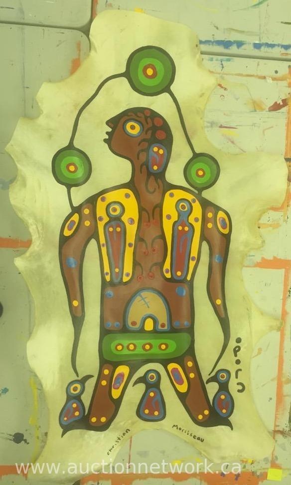 Original Christian Morrisseau Painting