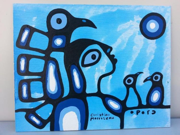 Artist: Christian Morrisseau (1969-) Title: