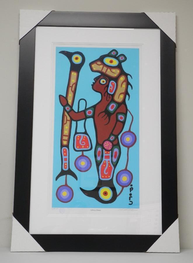 Christian Morrisseau (1969-) 'Ojibway Shaman' Giclee - From Artist's Original Artists proof #4/45