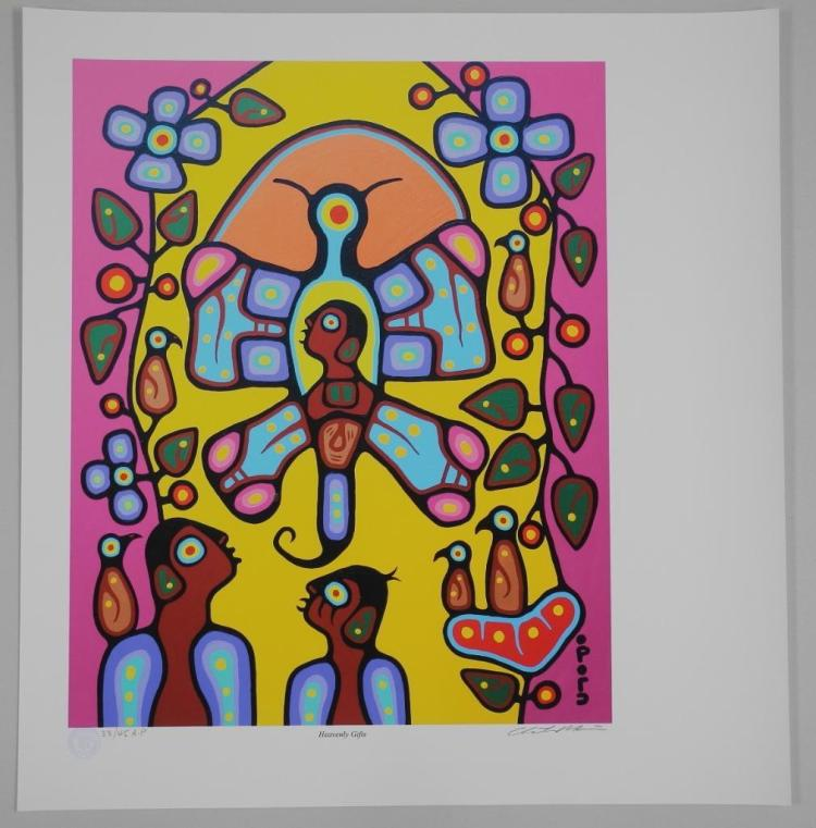 Christian Morrisseau (1969-) 'Heavenly Gifts' Artists Proof 33/45- Giclee 24