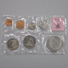 New Zealand Coins 1975 7pc Coin Set