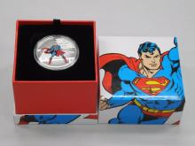 2016 $20.00 Fine Silver Coin DC Comics Originals : The Man of Steel