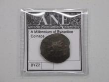 Byzantine Coinage - With Certificate