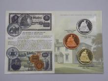 The Famous 1863 Pattern Transitional Dollar Limited Edition Collectors Version (Repro)