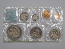 Coins of New Zealand 1967 Coin Set