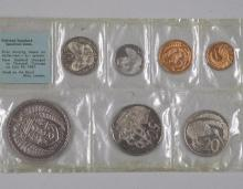 New Zealand 1967 Polished Standard Specimen Coins - By The Royal Mint