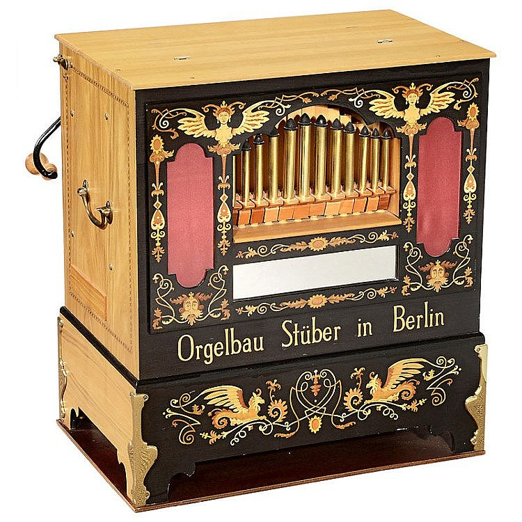 Berlin Street Trumpet Organ