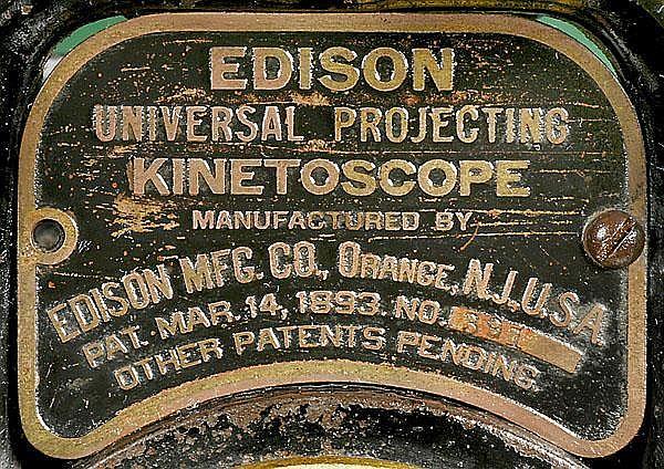 Edison Universal Projecting Kinetoscope c