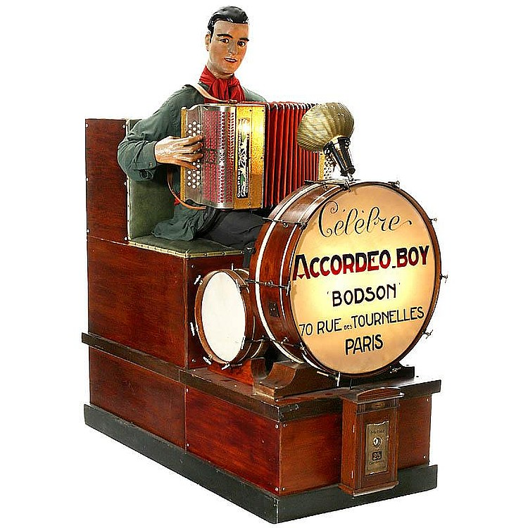 Automatic Accordion Player