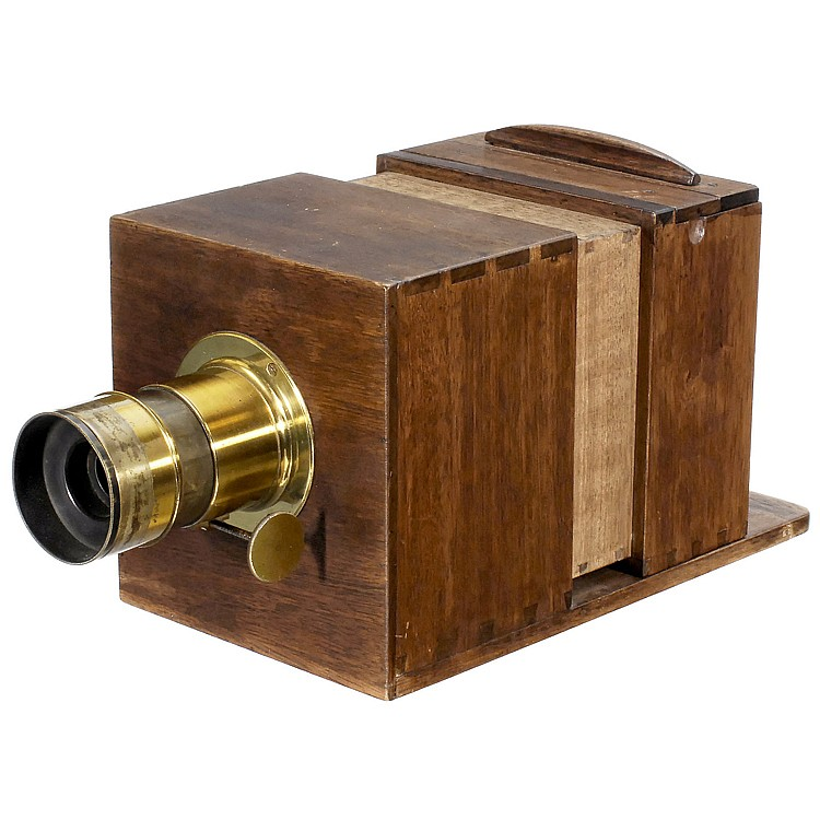 Sliding Box Daguerreotype Camera With Lerebours Lens C 185