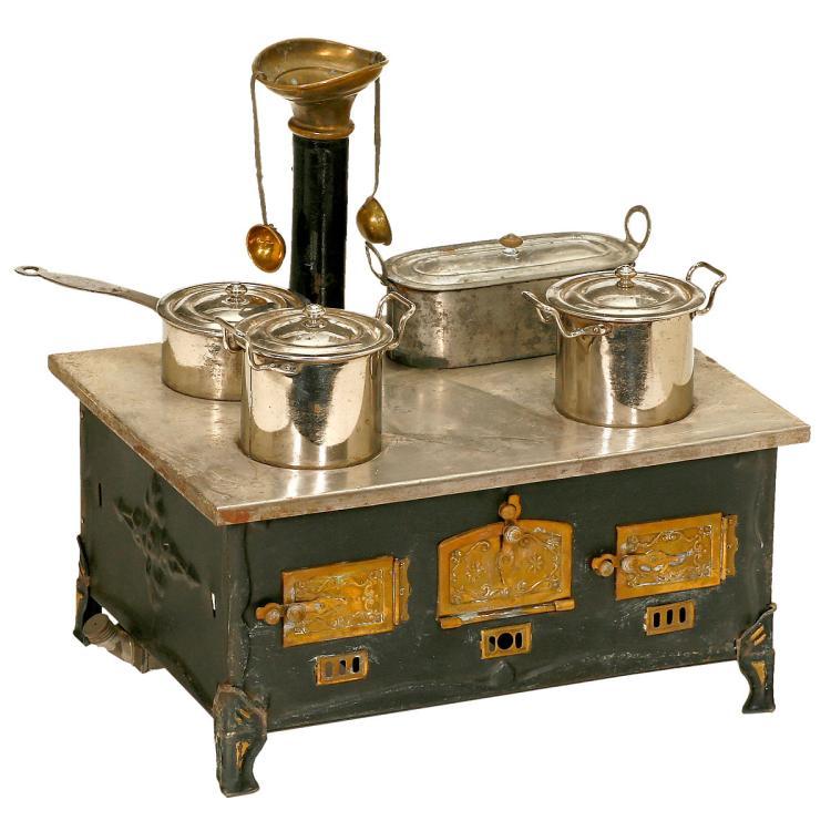 m rklin toy stove c 1925. Black Bedroom Furniture Sets. Home Design Ideas