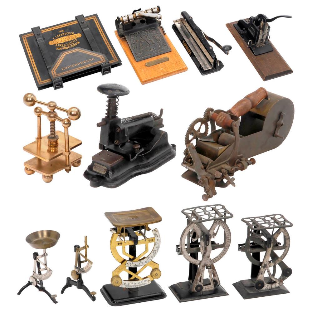 12 Historical Office Machines