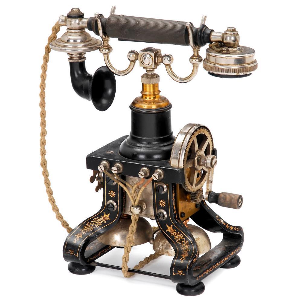 Skeleton Telephone by L.M. Ericsson, 1902 onwards