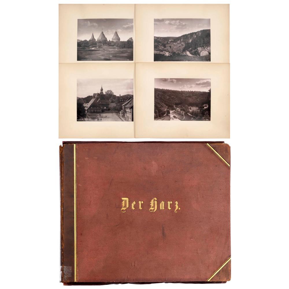"""Portfolio """"Der Harz"""", c. 1893-94"""