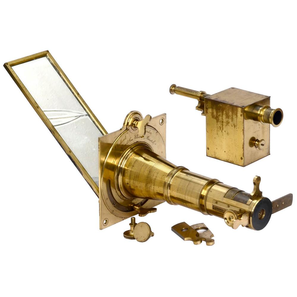 Solar Microscope with Projection Device by Dollond, c. 1790