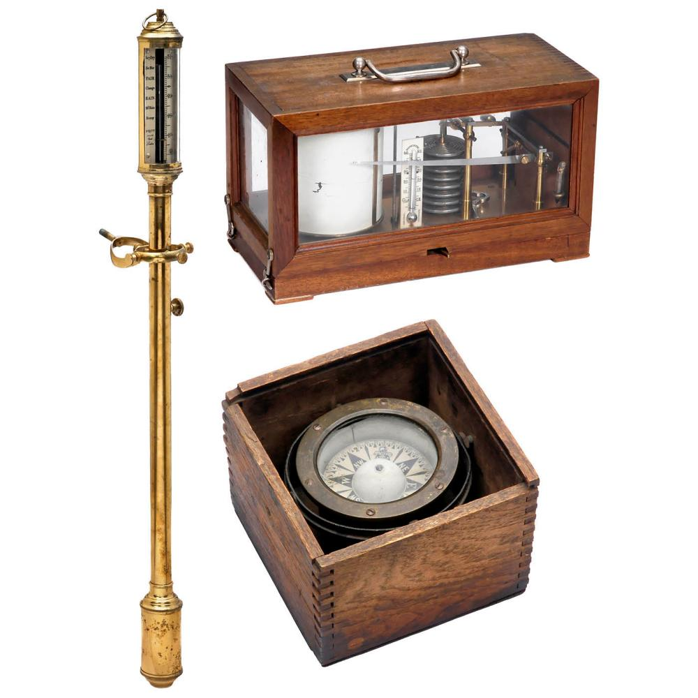 Two Barometers and a Compass
