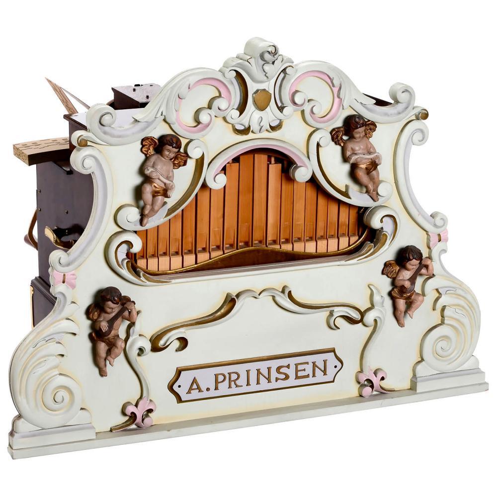 32-key Crank-Organ by Arthur Prinsen, c. 1985