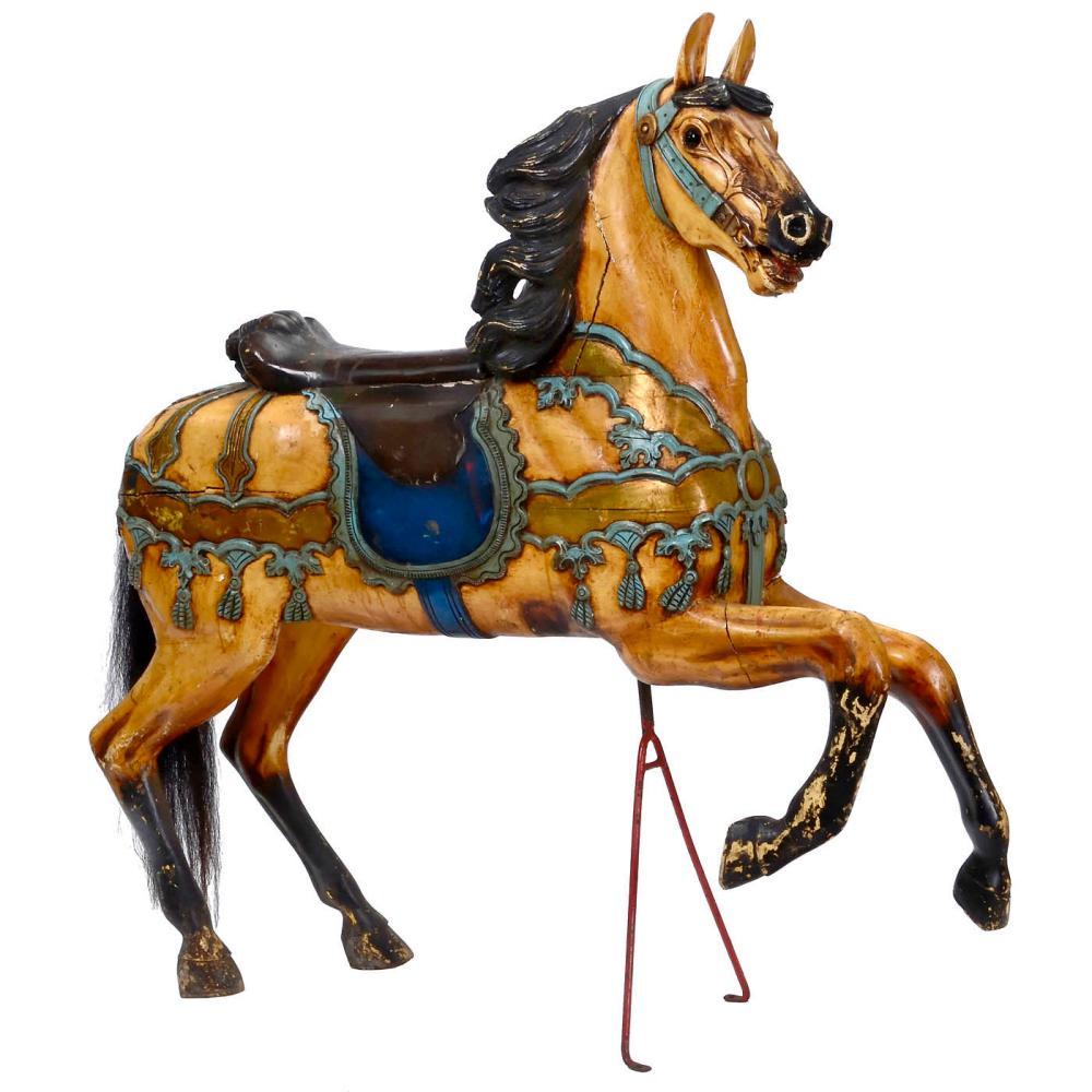 Friedrich Heyn Style Carousel Horse, c. 1980