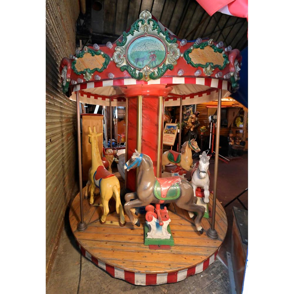 Small Children's Carousel, c. 1990