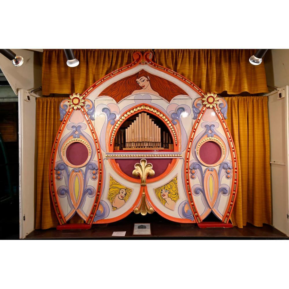 Gebrüder Bruder Universum Fairground Organ, c. 1925