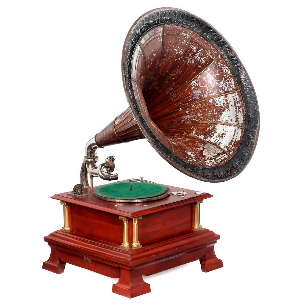 Carl Lindström Coin-Operated Gramophone, c. 1914