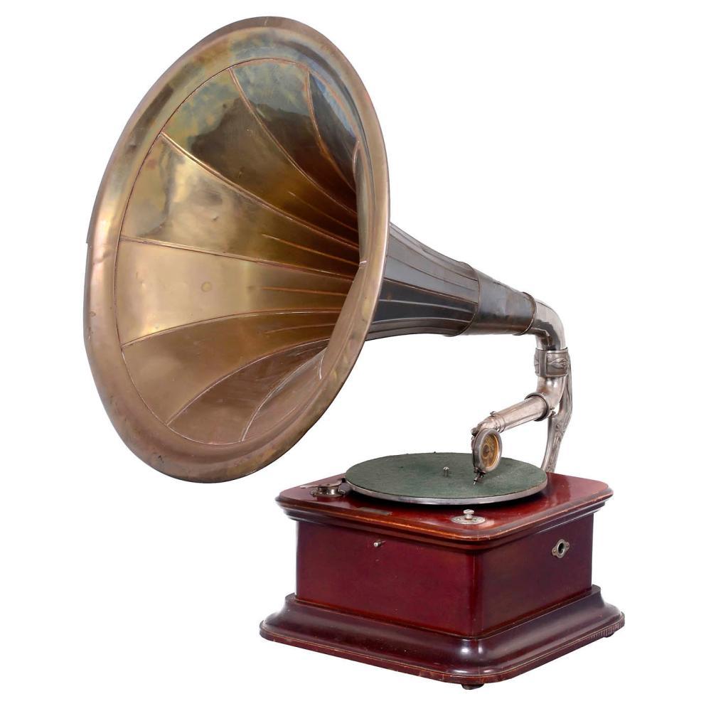 Farre Horn Gramophone, c. 1914