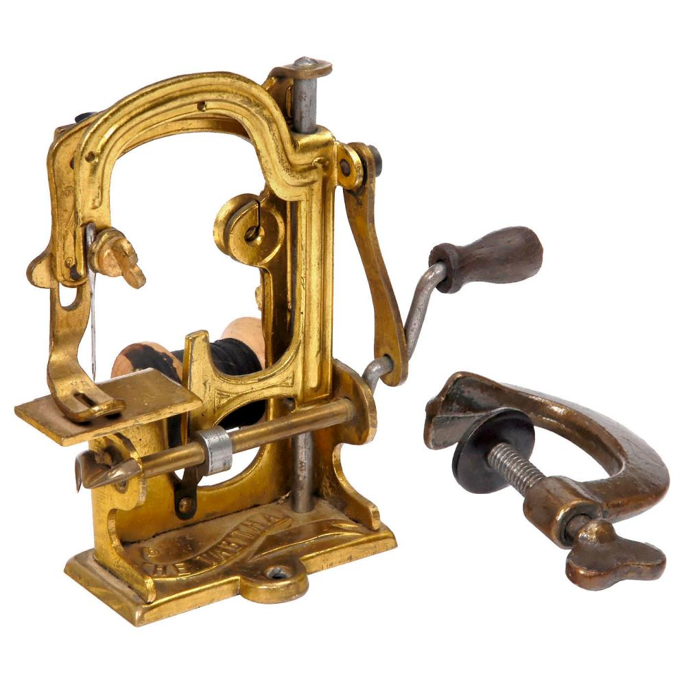 The Tabitha Toy Sewing Machine, c. 1886