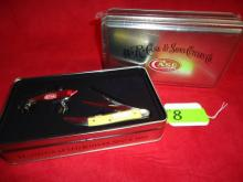 (2) Case XX Fishing Knives with Lure in Box