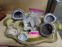 LARGE LOT OF GEODES