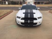 2014 SHELBY GT 500, RESERVE PRICE IS $32,000