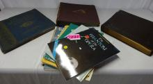 ASSORTED 33 RPM RECORDS AND SHEET MUSIC