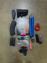 LOT OF ASSORTED DEFENSE ITEMS: