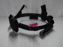 (1) SAFARILAND BELT WITH KYDEX GEAR BY SPARROW TACTICAL GEAR INCLUDING: