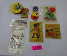COLLECTION OF BLACK AMERICANA EPHEMERA: