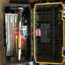 STANLEY FATMAX TOOL BOX WITH ASSORTED TOOLS