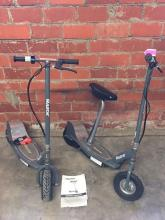 (2) RAZOR SCOOTERS ON STAND-UP ONE SEATED