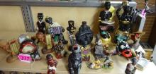 (25) ASSORTED AFRICAN/AMERICAN PORCELAIN FIGURINES