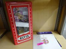 LOT OF ELVIS PRESLEY COLLECTIBLES: