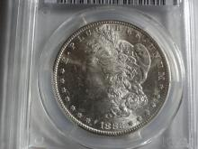 1882-S PCGS MORGAN SILVER DOLLAR MS62