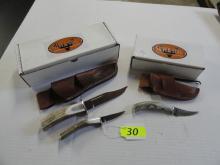SILVER STAG KNIFE SETS, D2 ELK STICK SERIES, GUIDE COMBO PACK, ELK STICK SERIES GAMER, ELK STICK. NIB